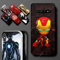 HUAWEI Honor 3c Lite Marvel Ironman Superhero Hard Soft Case Casing