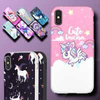 XIOAMI Redmi 3 4a Unicorn My Little Pony Hard Soft Case Casing