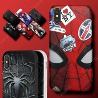 HUAWEI Honor 3c Lite Marvel Spiderman Avengers Hard Soft Case Casing