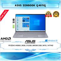 Laptop Asus Zenbook Ryzen 5-4500U 8GB 512GB MX350 2GB Win10 14 FHD