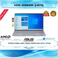 Laptop Asus Zenbook Ryzen 5-4500U 8GB 256GB MX350 2GB Win10 14 FHD