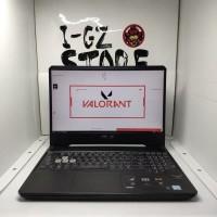Laptop Asus TUF Gaming FX505GE GTX 1050 4GB 8/1TB Lengkap Like New