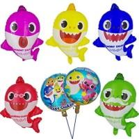 Balon Foil Baby Shark | Balon Pink Fong | Karakter Pinkfong