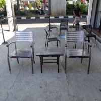 Kursi teras/kursi taman/kursi minimalis besi /kursi besi