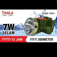 Senter Kepala Selam / waterproof TESLA 7W