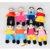 Boneka Tangan Kakek/ Nenek/ Ayah/ Ibu/ Anak Laki-laki / Anak Perempuan
