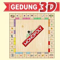 Monopoly Internasional Bahasa Indonesia ( Laminasi Anti Air ) Elegan