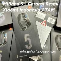 Xiaomi MiBand 5 Garansi Resmi Indonesia / TAM - Mi MiBand5 Mi Band 5