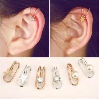 EAR CLIP SIMPLE ONE / ANTING JEPIT / AKSESORIS IMPORT MURAH