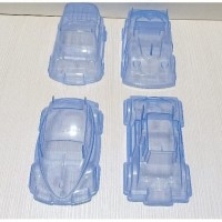 Cetakan Mobil Mobilan Bento Nasi Tumpeng Kuning Ulang Tahun Agar Jelly