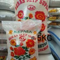 BERAS MEDIUM SETRA RAMOS IR64 CAP BUNGA/KEMBANG 5KG MURAH