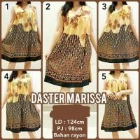 Daster Batik Rayon Halus Baju Tidur Dress Batik Daster Busui Bumil STB
