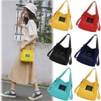 Tseloop-T08-11 Tas Kanvas Travel / Tote Bag Cewek / Tas Bahu Fashion