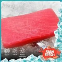 Fillet Ikan Tuna   Saku   Premium Frozen   Yellow Fin Tuna