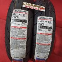 Ban Tubeless Bridgestone Battlax SC NMAX 120/70 - 13 & 140/70 - 13