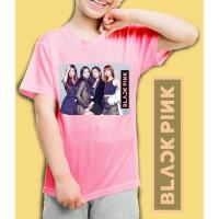Kaos/baju anak BlackPink -MEMBERS - 002 (size anak 1 - 7 tahun)