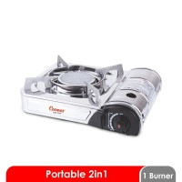Cosmos Kompor Portable - CGS-123P - CGS123P - Silver