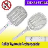 Raket Nyamuk Rechargeable KRISBOW / Raket Nyamuk Tanpa Baterai 220v