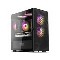 Aigo darkFlash DLM21 MESH Black - Tempered Glass Micro ATX Gaming Case