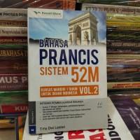 bahasa Perancis sistem 52 m volume 2 buku original + CD