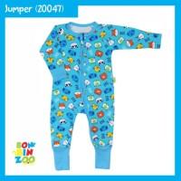 BONBINZOO Baby Sleepsuit Zipper Jumpsuit Baju Tidur Bayi