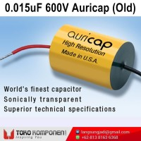 0.015uF 600V Auricap Metalized Polypropylene Capacitor MKP 15nF 0,015