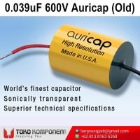 0.039uF 600V Auricap Metalized Polypropylene Capacitor MKP 39nF 0,039