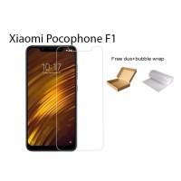 Xiaomi Pocophone F1 Tempered Glass Screen Protector Anti Gores