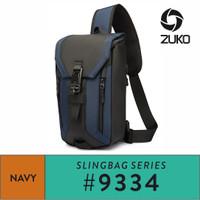 Ozuko Sling Bag #9334 - Navy