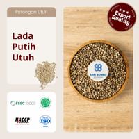 Lada putih Utuh / White Pepper Seed 250gr Export Quality