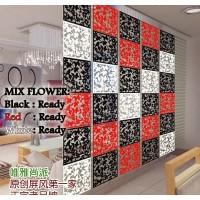 VINTAGE 3D MIX FLOWER N BIRD /TIRAI GANTUNG / PARTISI PENYEKAT RUANGAN