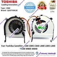Cooling Fan Kipas Laptop Toshiba Satellite C800 L800 M800 M805 C805