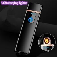 Korek Api Elektrik Fingerprint Mancis Touch Sensor Firetric W10