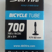 Ban dalam sepeda fixie 700 x 19/23C FV 60mm