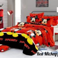 Sprei karakter kartun mickey mouse ukuran 180×200