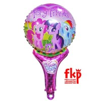 Balon Foil Tongkat Karakter My Little Pony and Friends / Balon Tangan