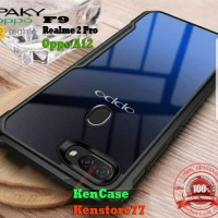 Case Oppo F9 Oppo A7 A5s Shockproof Armor Transparan Softcase