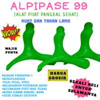 ALPIPASE 99 Besar ( Alat Pijat Pangkal Sehat ) - Hijau