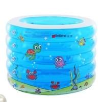 Intime Baby Spa ROUND Kolam Renang Spa Bayi Bulat FREE Neckring Pompa
