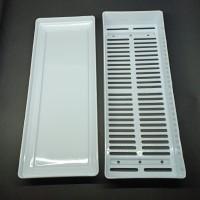 tray semai microgreens ukuran 25x9 cm untuk tempat semai benih kecil