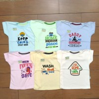 Baju Pakaian Fashion Kaos Oblong Anak Bayi Cowok Cewek Hello Baby