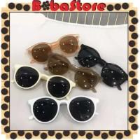 ⭐Bobastore⭐ R178 Korean Fashion Bulat Mata Kucing Kacamata Hitam
