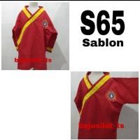 Baju Silat Tapak Suci Ukuran S65&S Sablon (Untuk anak SD)