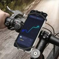 HOLDER HP SEPEDA HOLDER HP MOTOR phone holder STANG BAR 360 Karet