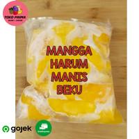 BUAH BEKU MANGGA HARUM MANIS / FROZEN MANGO 500 Gram