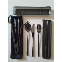 Premium Cutlery Set 304 Pisau Steak Sujeo Komplit BOX + Sarung