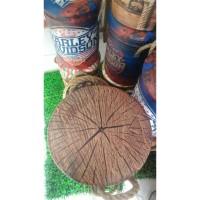 AGSM Tempat Duduk / bangku / Kursi /sofa Kaleng Tin Stool Bark Cocok