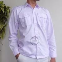 Baju seragam PDH PANJANG SD/SMP/SMA SIZE 6-17 - 6-7, PDH PUTIH