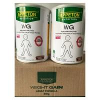 Appeton Weight Gain WG 900G Susu Untuk Gemuk Vanilla & Coklat (Dewasa)