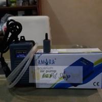 Amara Q3 Air Pump Paket Aerator Mesin Gelembung Aquarium
